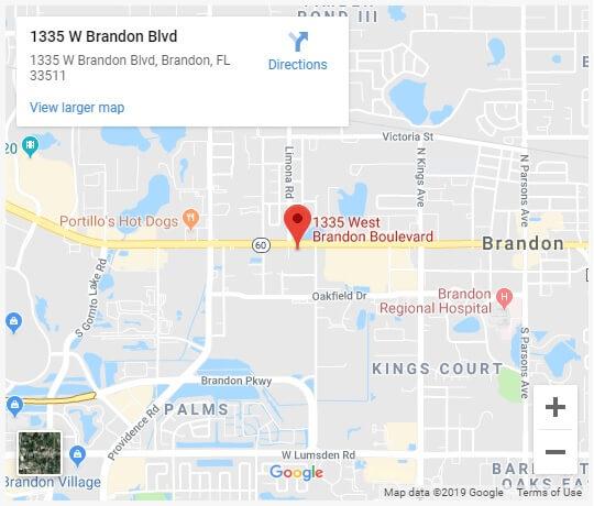 Brandon Office - Google Maps